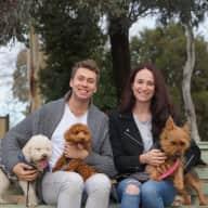Profile image for pet sitters Lara & Daniel