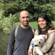 Profile image for pet sitters Elisa & Federico
