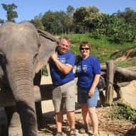 Profile image for pet sitters Gail & Brian
