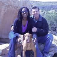 Profile image for pet sitters Aisha & Steve