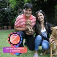 Profile image for pet sitters Lucia & Matías