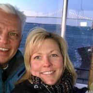 Profile image for pet sitters Christine & Jeff