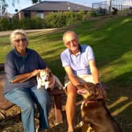 Profile image for pet sitters Patsy & Peter
