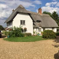 Idyllic 16th century country cottage with amazing Poodles