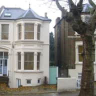London -  a cocker spaniel, a cat, and a nice big house in New Cross
