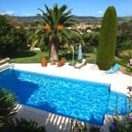 A family of cats and dogs need sitting in December 2018 in Roujan, near Beziers in the South of France