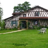 Rustic French country cottage in Gascony.