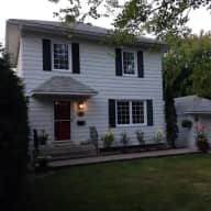 Beautiful House in Central Ottawa with an Old English Sheepdog Puppy