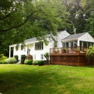 BEAUTIFUL County Home in the woods with pond seeks house sitter to give pets TLC while away.