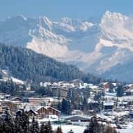 Period property in Swiss Alpine heritage village
