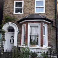East London Victorian House with two lovely Westies for company