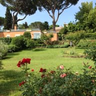 House with big garden near Old Appian Way