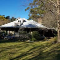Beautiful acreage on outskirts of Sydney with 1 fat cat!
