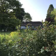 Country house with lovely gardens only 14 miles from Dublin City Centre with 3 dogs, a cat and hens!
