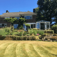 Large detached house in countryside with stunning views