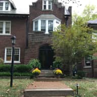 1907 Home in Private Neighborhood 1-block from Washington University, 2 blocks from Forest Park