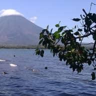 Off grid beach cabin on Ometepe Island Nicaragua
