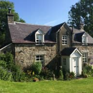 Edge of Scottish Highland village converted cottage