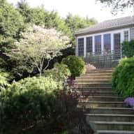Lake house and garden - near Boston
