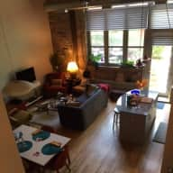 Chicago (Bucktown) loft & garden with sweet kitty