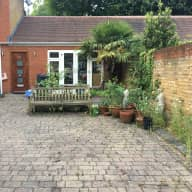 Small house in Clapham, London with two dogs