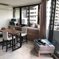 Cat sitting. Lovely 2br condo in Bangkok. Excellent location!