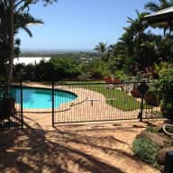 Beautiful house and dog waiting for you to enjoy on Sunshine Coast