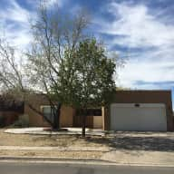 Two- bedroom home fairly close to the airport in a quiet gated community.