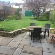 Four double bed family home with rear garden, vegetable garden and a young labradoodle!
