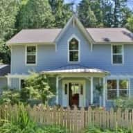 Lovely home and pets on quiet Bainbridge Island, just a ferry ride from downtown Seattle, WA.