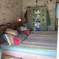 Rustic colourful home in Buenos Aires country side, San Antonio de Areco