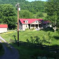 Beautiful  farm house near the Great Smokey Mountains
