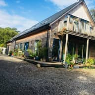 Wooden House on the Wild West Coast with Hens, Ducks, Bees & Collie