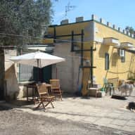 An early summer break in a southern italian country cottage with 4 dogs in a 3 acre garden