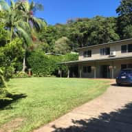 Family home in a quiet forested northern suburb of Cairns.