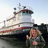 Stay on a converted tugboat with 3 hilarious dogs