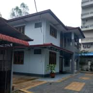 Three bedroom house in Yangon with two dogs.
