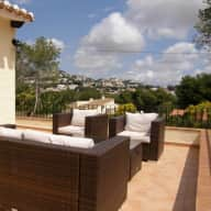 Lovely Big Private Villa in Moraira