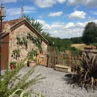 House and Dog Sitter in Picturesque Village