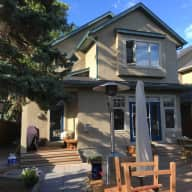 House/Cat sitters  in inner city Calgary while we take a road trip