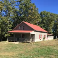 East Tennessee counrty farmhouse, yet not far from civilization