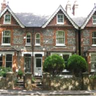 Victorian Townhouse in West Sussex City centre with two cats