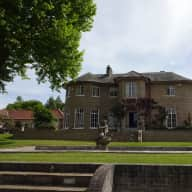 Regency house in rural setting