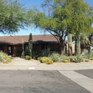 Home with pool in Central Phoenix, close to all that downtown Phoenix has to offer and within 10 minute walk of the lightrail public transportion system