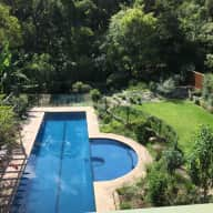 9 days in leafy Lindfield w heated swimming pool & gorgeous dog