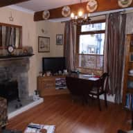 2 Bed house in the Yorkshire Dales with 1 dog & 1 cat