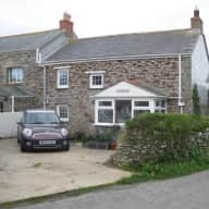 Lovely 2 bedroom cottage close to sea.  Elderly Border terrier bitch.