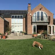 Modern village house in rural Leicestershire with a one year old welsh collie needing fairly energetic  sitter