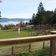 Small farm on Salt Spring Island, British Columbia, Canada