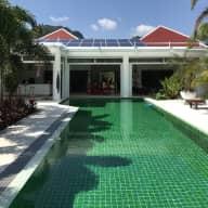 Nice pool villa with stunning mountain views